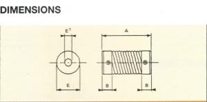 accouplement-acier-sorflex-dimensions