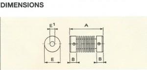 accouplement-soufflex-bronze-dimensions